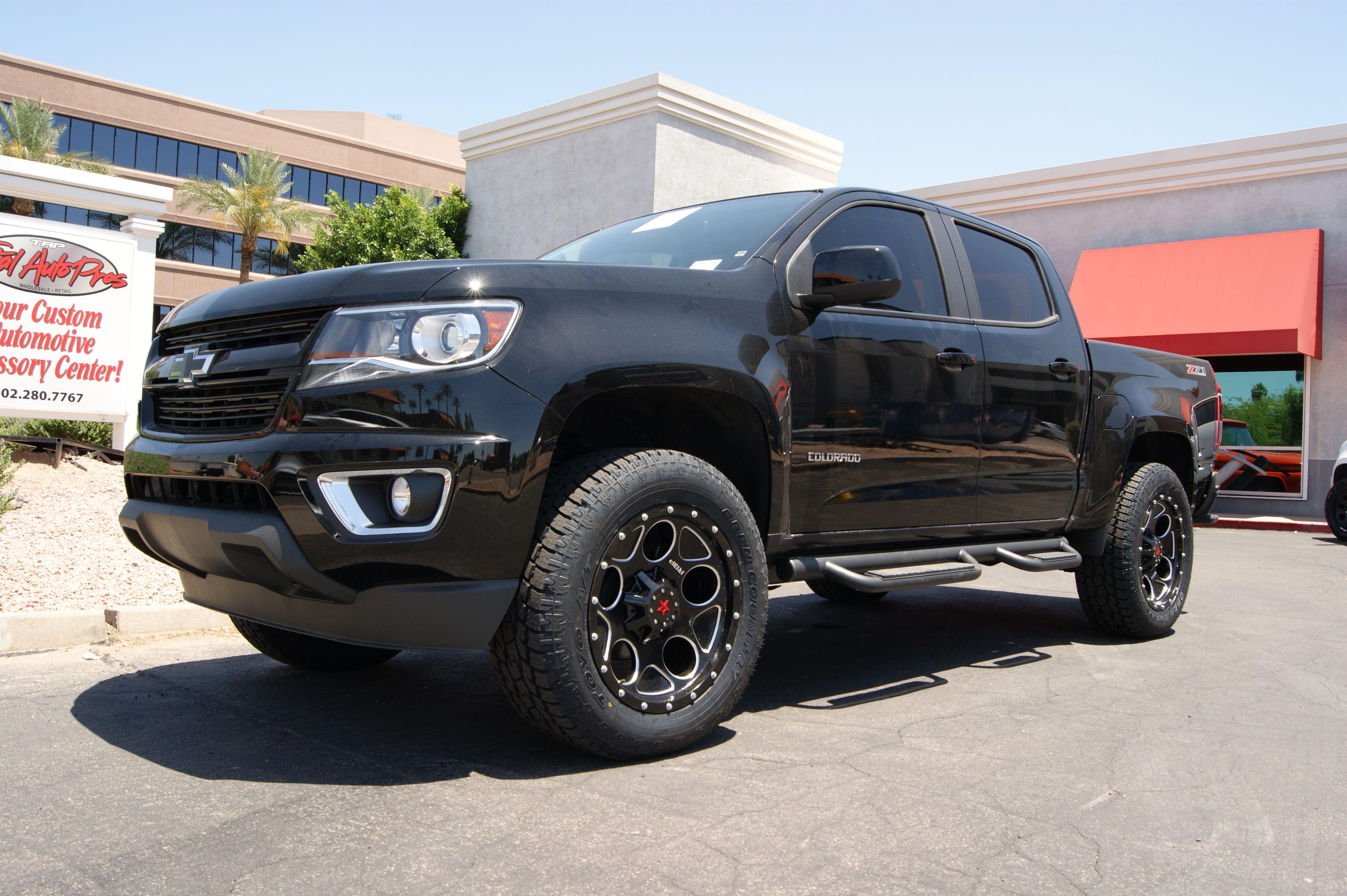 2015 Chevrolet Colorado Lt275 60r20 Toyo Open Country A T Ii