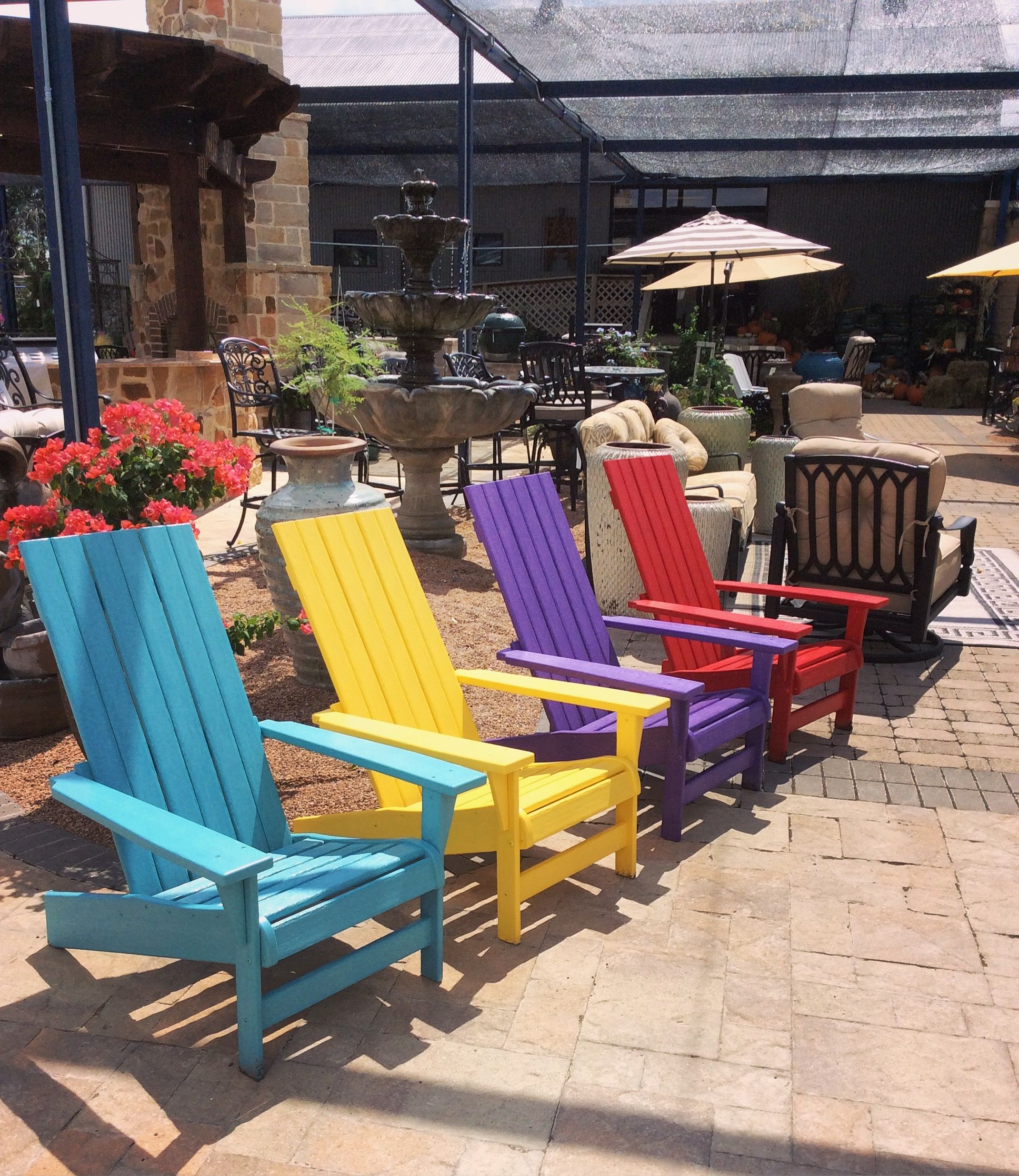 Multicolor Breezesta Adirondack Chairs- Choose from 20 different ...