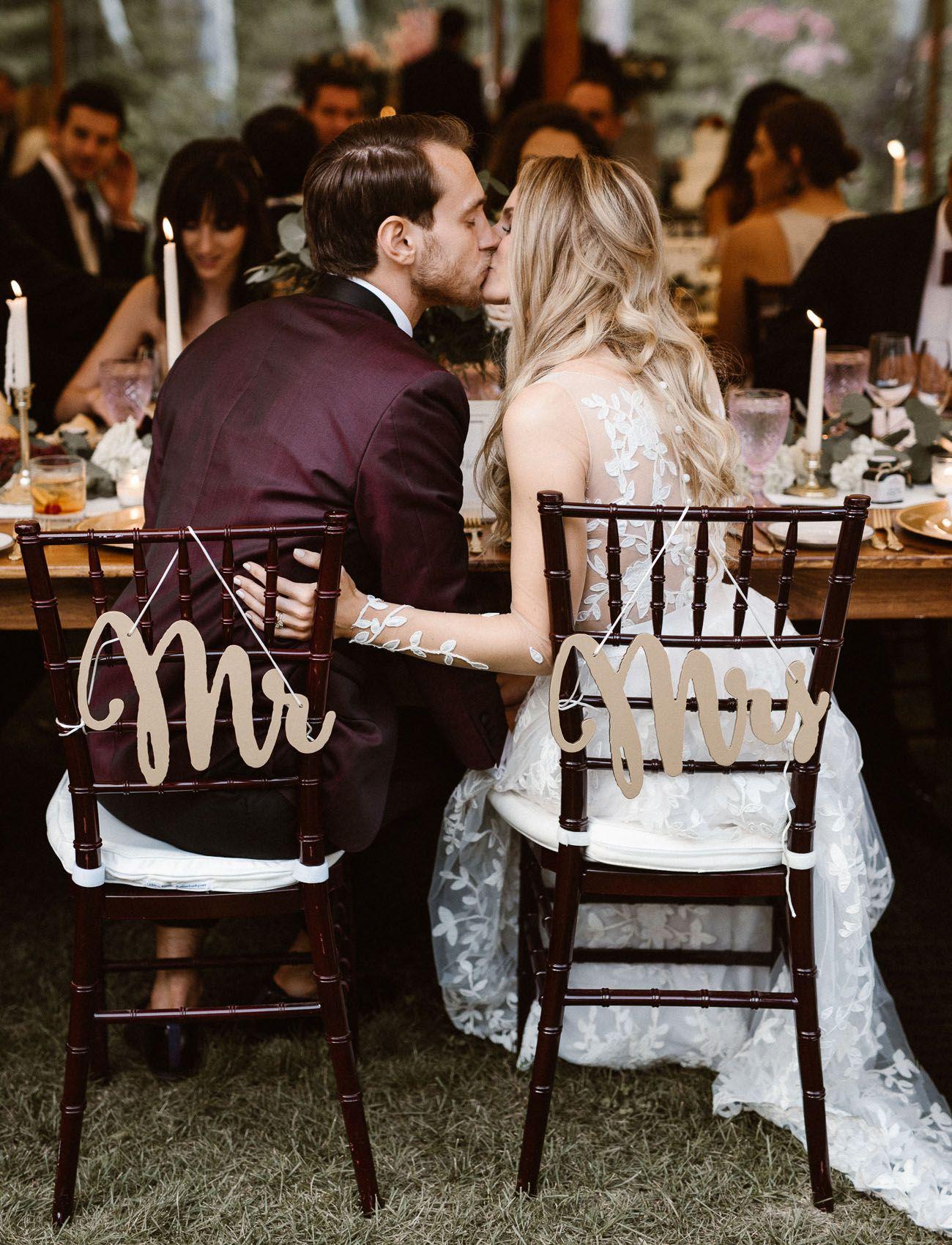 c2127b0d4be Rustic Elegance  A Black Tie Wedding in the Woods