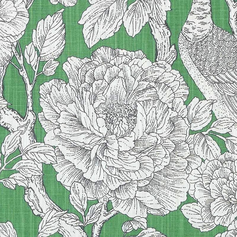 Emerald Green Floral Fabric Black White Floral Upholstery Fabric Custom Large Scale Floral Cu Floral Curtains Floral Upholstery Fabric Curtains Living Room