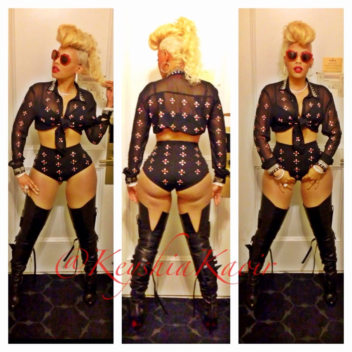 Keyshia Ka Oir Outfit In Chicago Ka Oir Tour Keyshia