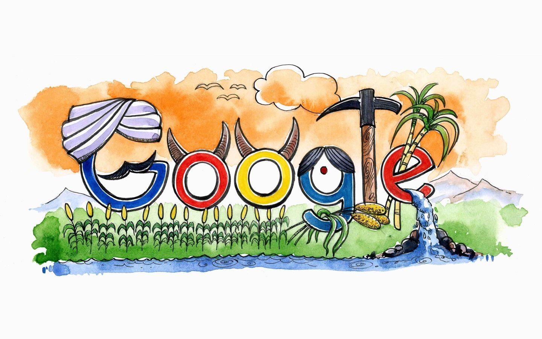 Doodle 4 Google 2018 Vencedor da Índia Doodle 4 google