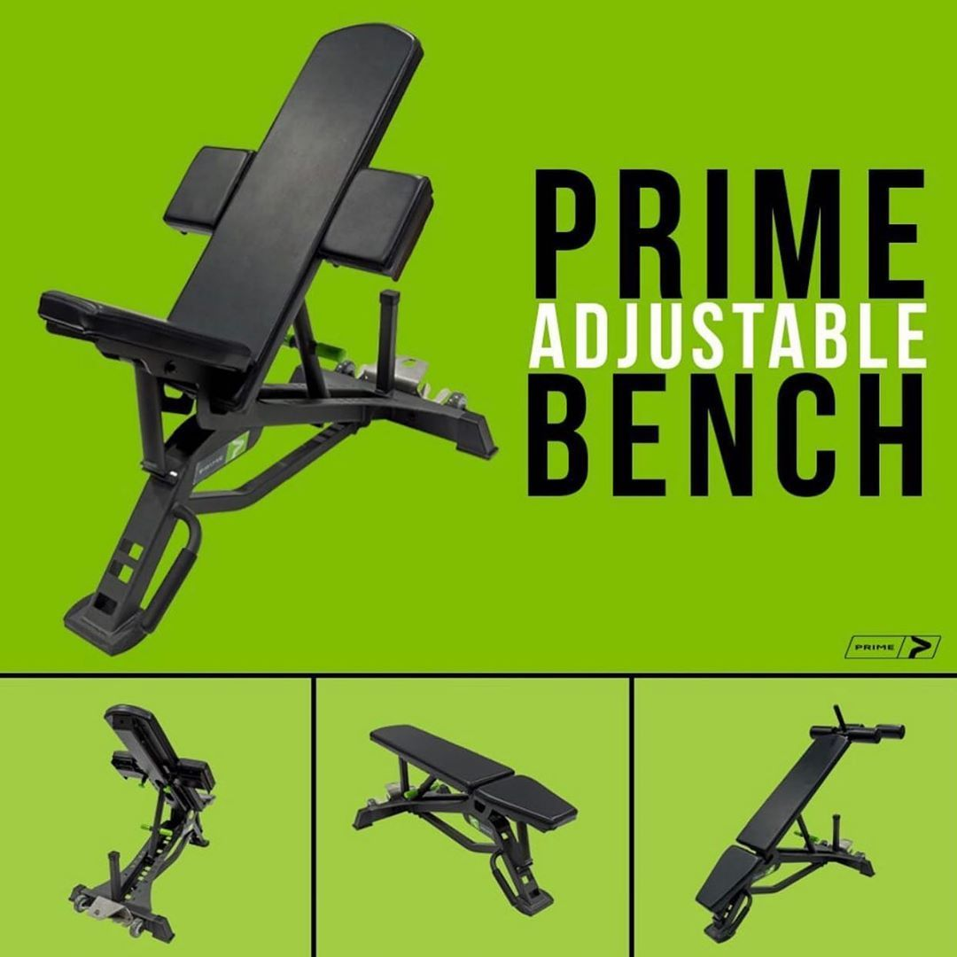 Prime Fitness Usa On Instagram Now Available For Purchase Online The Prime Adjustable Bench This Product Was Designed To Be The Most Bench Fitness Design