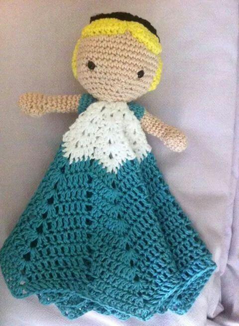 Mantita de apego | bellezas al crochet | Pinterest | Manta, Bebé y Bebe