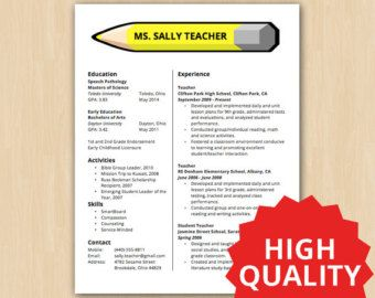 Elementary School Teacher Resume Il_340X270621490308_Ncm5 340×270 Pixels  Teaching