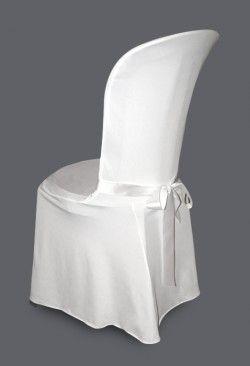 Housse De Chaise Mariage Blanc Mobilier Mariage Pinterest