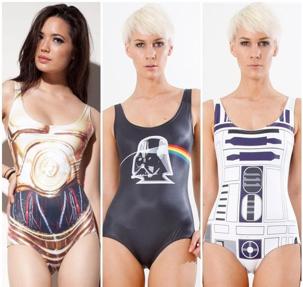 Australian Fashion Line Gets Star Wars Clothing Deal After Getting A Cease And Desist Letter From Georg Star Wars Outfits Bathing Suits Pop Culture Fashion