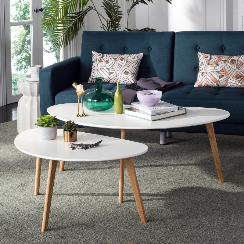 Safavieh Olida Double Coffee Table Products Oak