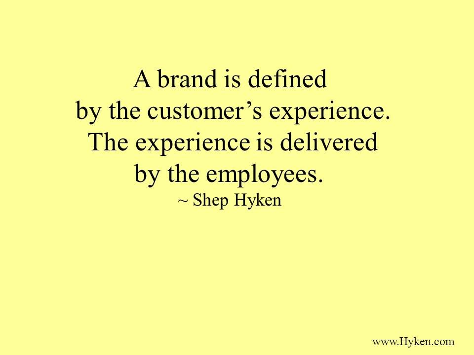 Customer Experience Wisdom From Shep Hyken Cx Cxo