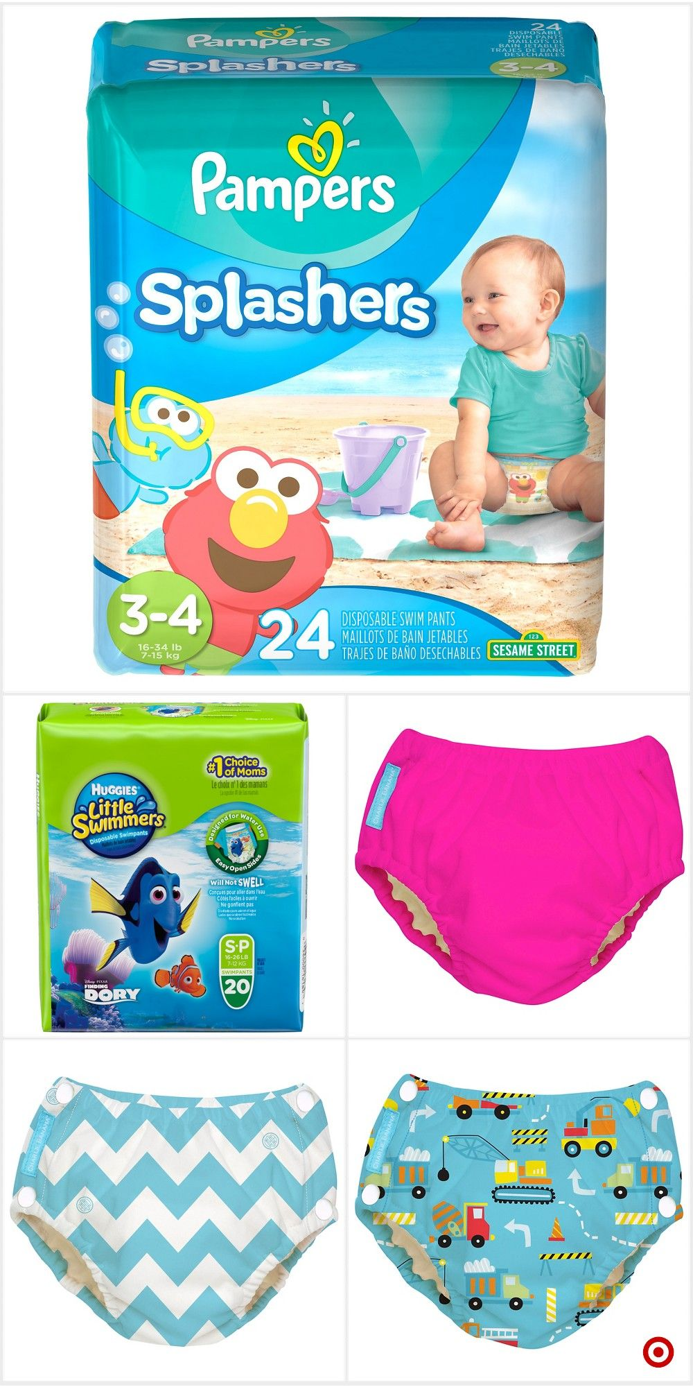 2894d15504f Shop Target for disposable swim diapers you will love at great low prices.  Free shipping on orders of $35+ or free same-day pick-up in store.