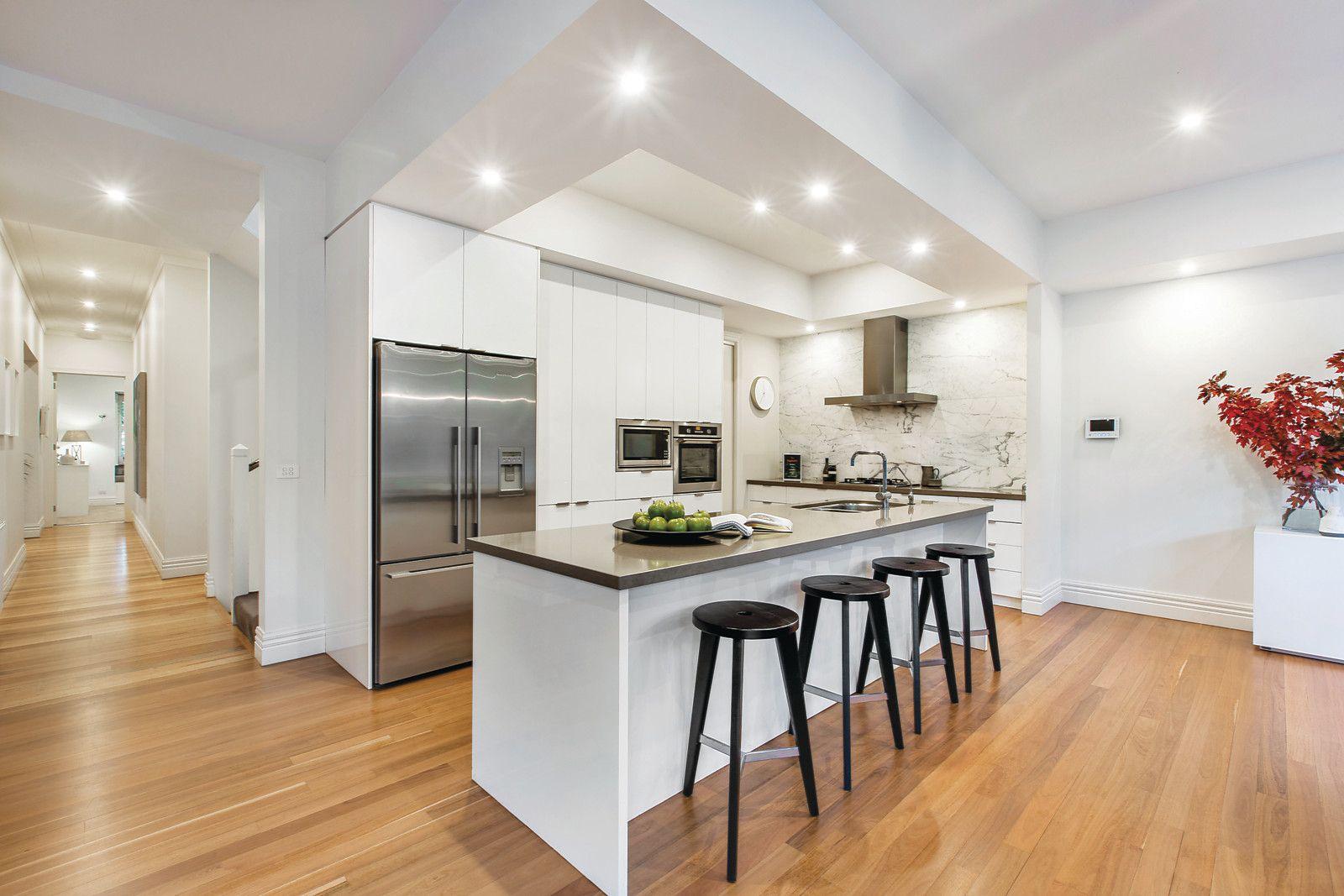 81 Kerferd Street Malvern East kitchens, White