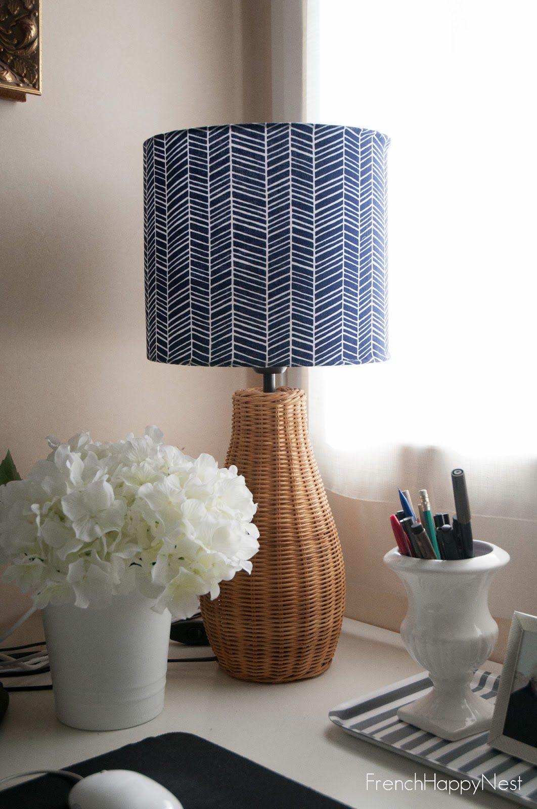 DIY Fabric Lampshade