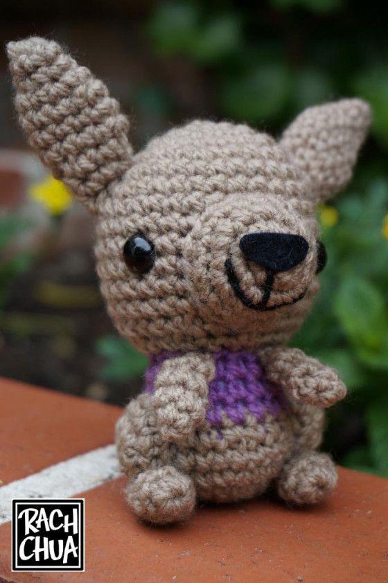Free Pattern Amigurumi Kangaroo | Amigurumi | Pinterest