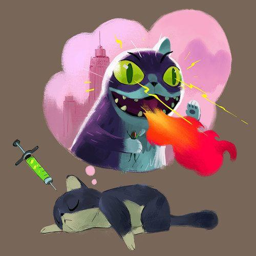 Mike Yamada  Radioactive Cat