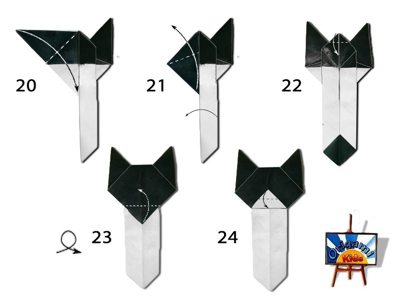 Easy Cat Bookmark Page 08 Bookmarks To Make Pinterest