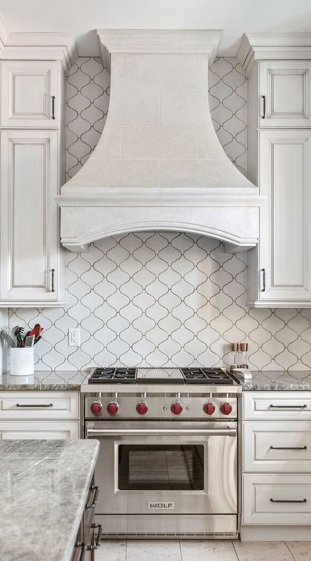 "44+ ( Top ) Arabesque Tile - "" Kitchen Backsplash "" Design ..."