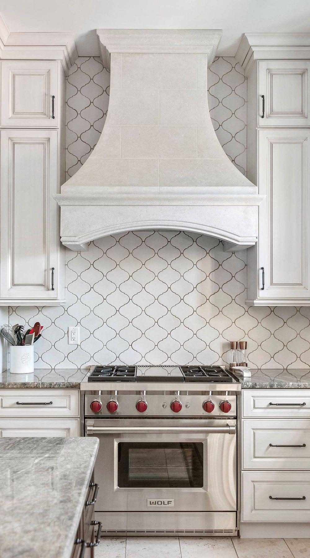 44 Top Arabesque Tile Kitchen Backsplash Design Ideas Kitchen Backsplash Designs Arabesque Tile Backsplash Kitchen Farmhouse Kitchen Backsplash