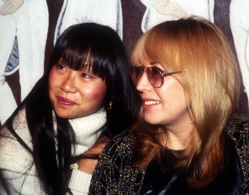 December 3, 1981 - Cynthia Lennon with May Pang, lots of stories here I bet.