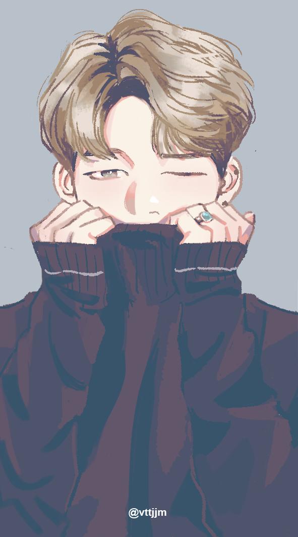 Pin By Kim Yoon Rei On Bts Fanartu Bts Drawings Fan Art Bts Fanart