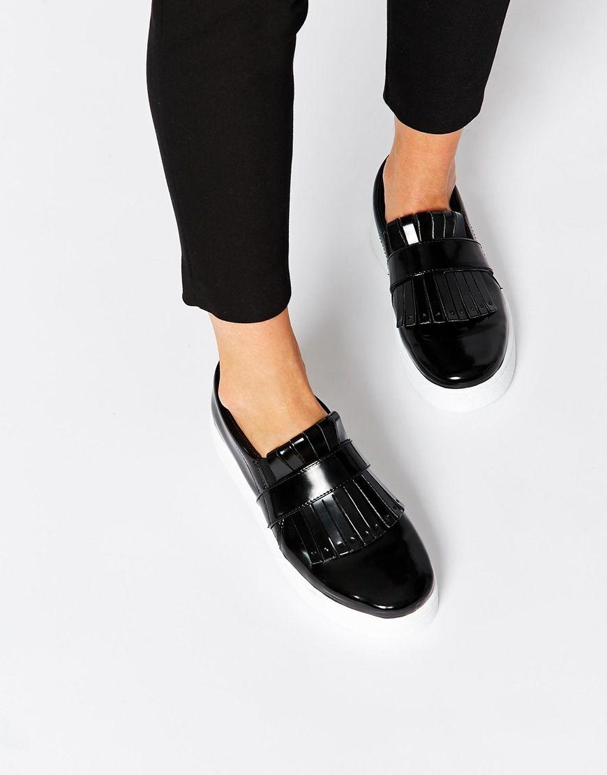 Buy Women Shoes / Asos Darielle Fringed Plimsolls
