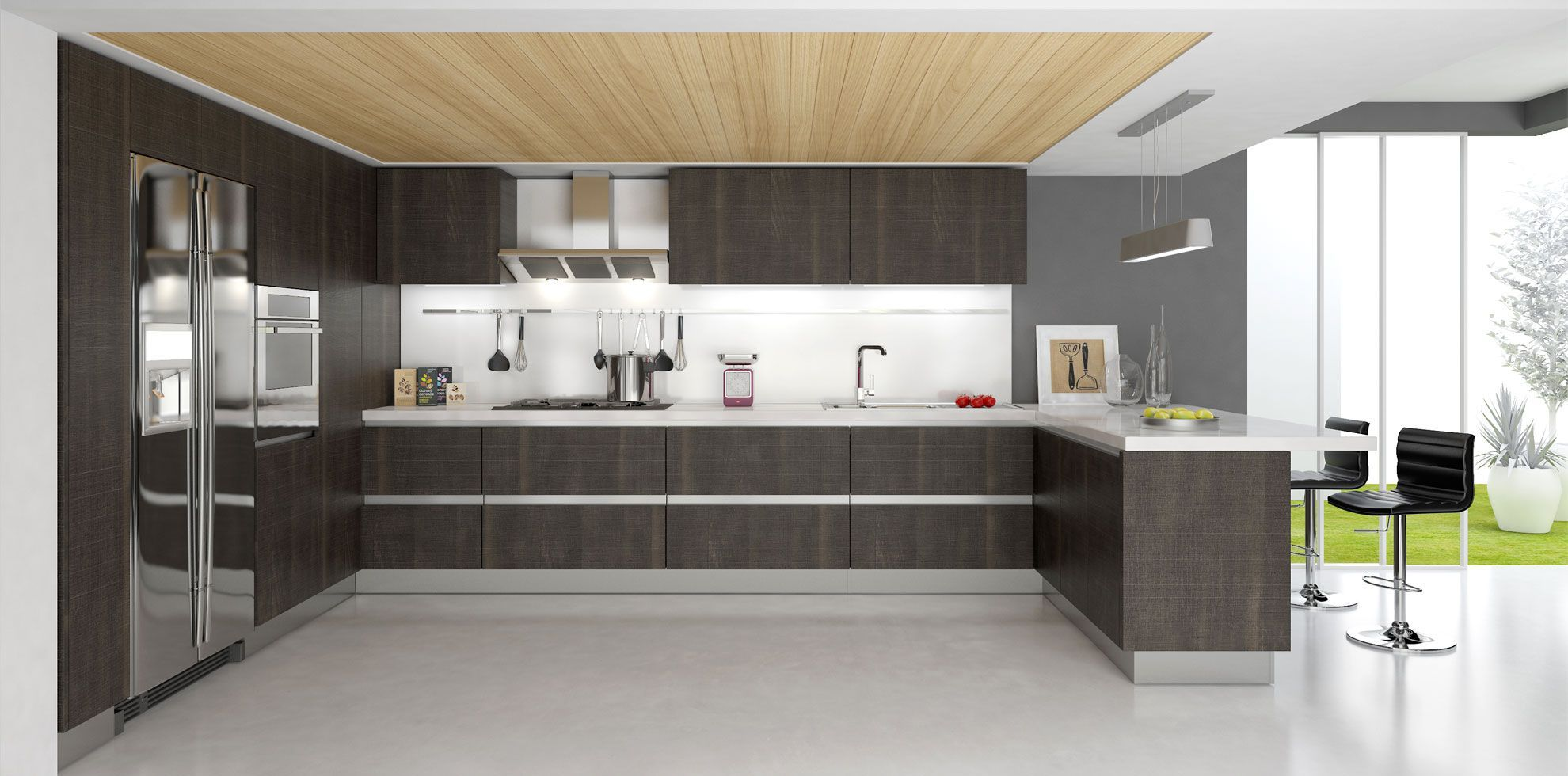 20 Prime Examples Of Modern Kitchen Cabinets Modern Kitchen Cabinet Design Contemporary Kitchen Design Contemporary Kitchen Cabinets