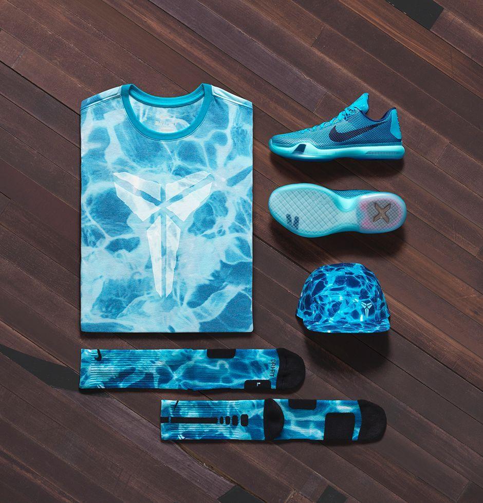 blue kobe shoes