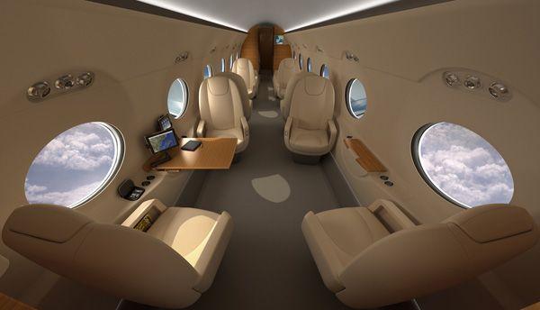 Gulfstream G550 Interior Gulfstream Aerospace Luxury