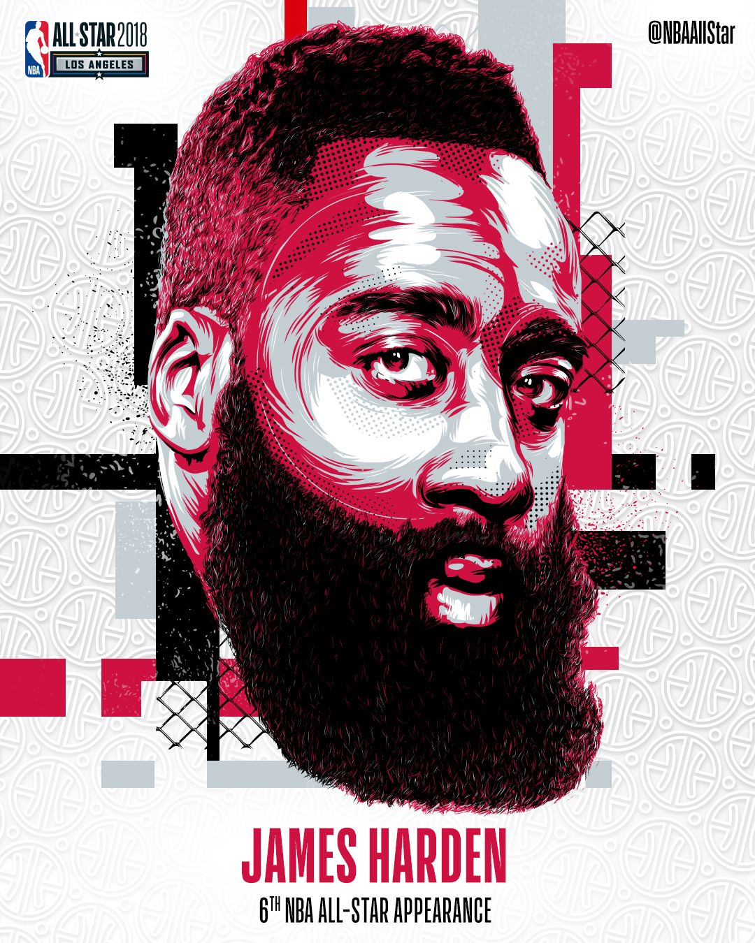 James Harden Basketball Camp: NBA All-Star Game - Starters Announcement On Behance