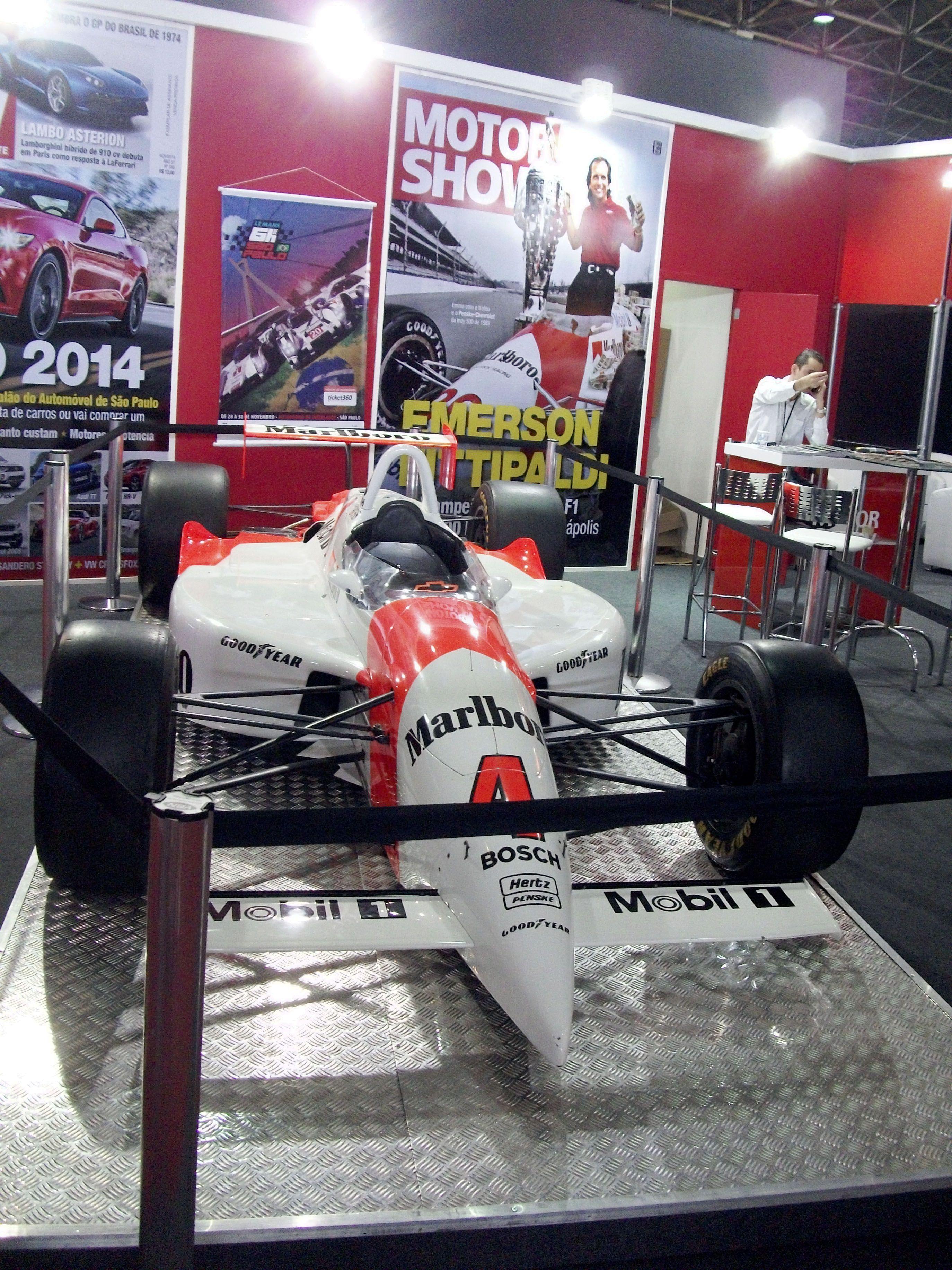 Penske Chevrolet  PC22 Carro pilotado por Emerson Fittipaldi, vencedor das 500 Milhas de Indianápolis de 1993.
