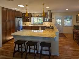 pictures of neutral kitchens with neutral wood floors and dark furniture - Google Search