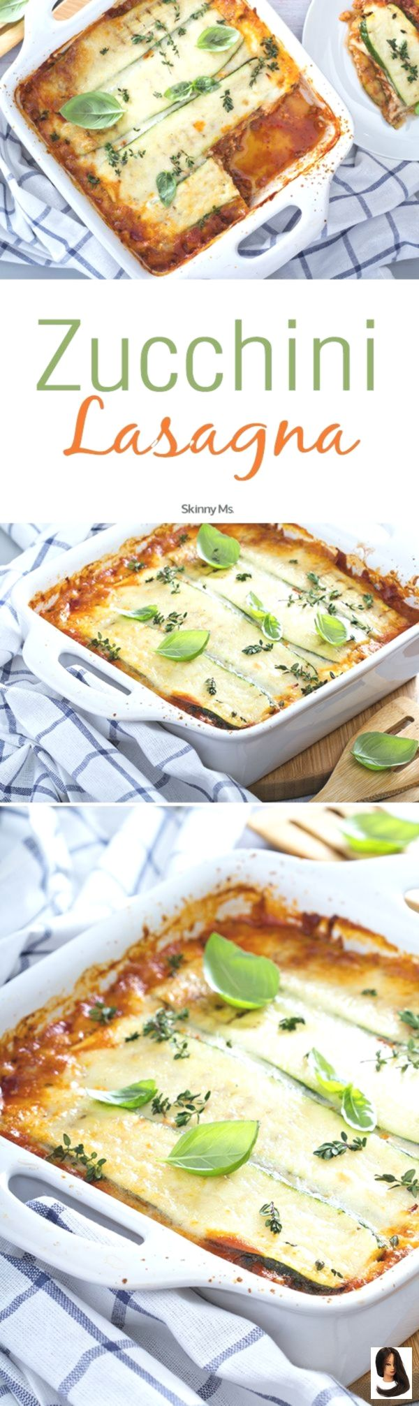 vegetarische lasagne Zucchini Lasagna Our Zucchini Lasagna is a perfect veggie lasagna that demonstrates just how healthy you can make dinner when you get creative with v...