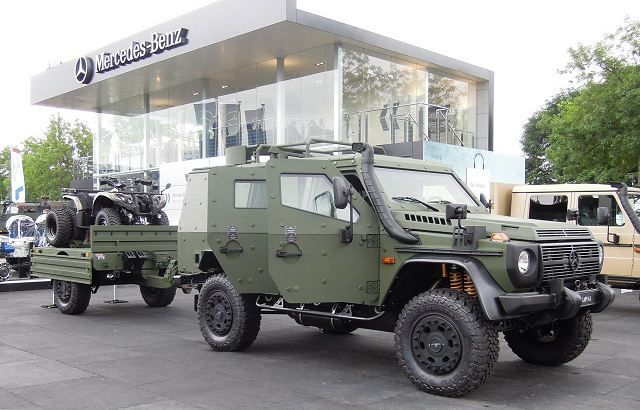 Lapv7 x light armoured patrol vehicle mercedes benz and for Mercedes benz military vehicles