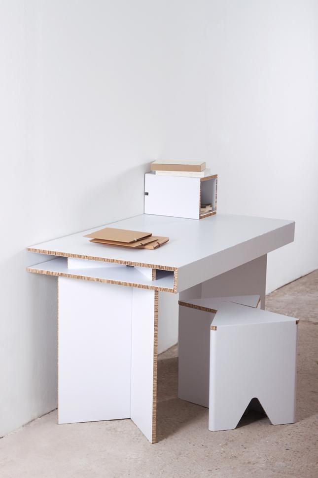 Мебель из картона | COROPLAST | Pinterest | Cartón, Muebles ...