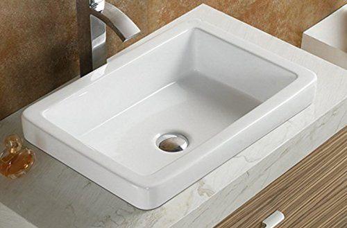 Elimax S Sr 7444 Bathroom Semi Recessed Ceramic Porcelain With