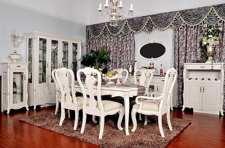 Dinning Room Table  Love  For My Dream Home  Pinterest Glamorous Country French Dining Room Set 2018