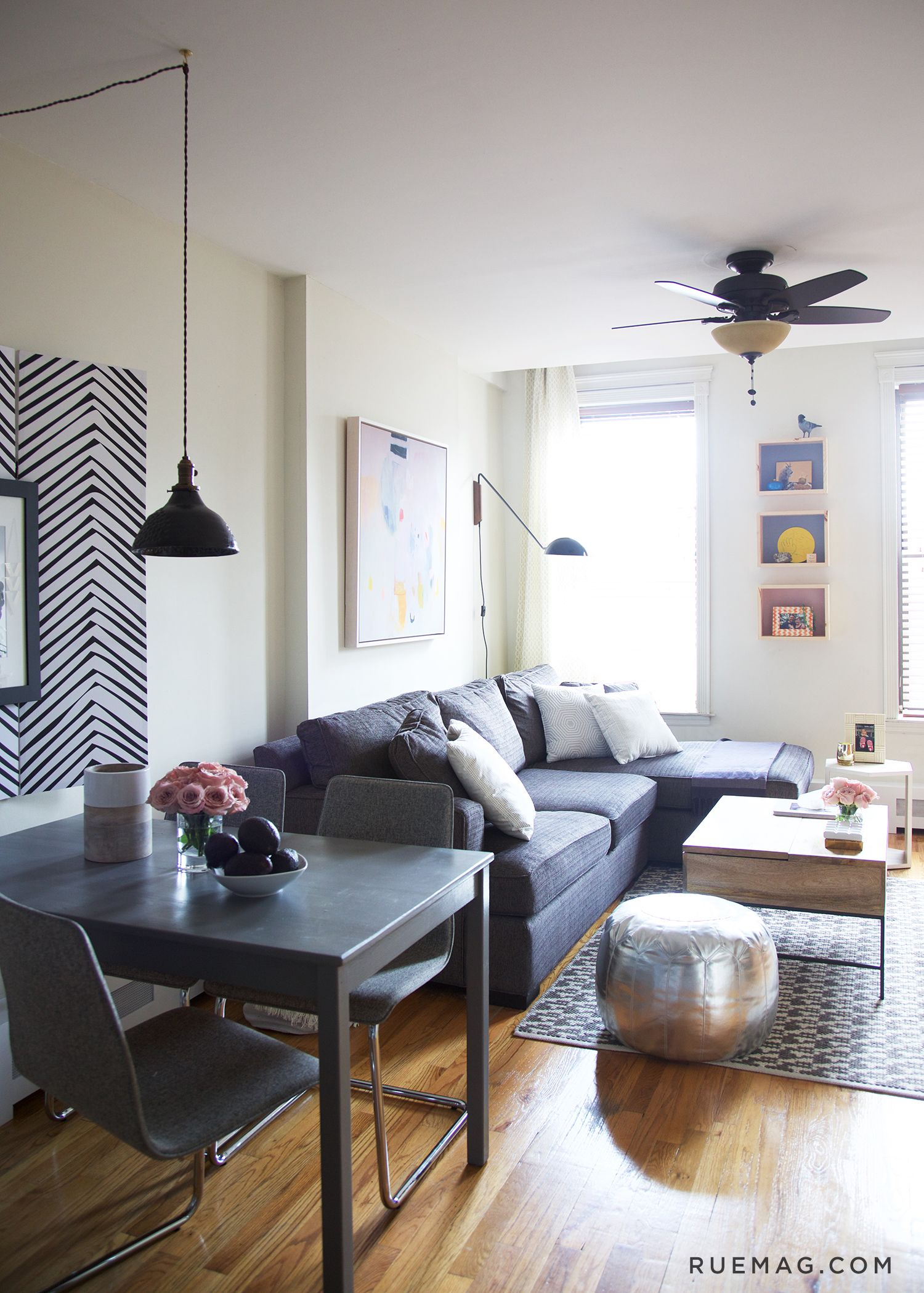 5 Things We Learned from this Small Space Makeover by Nate Berkus ...