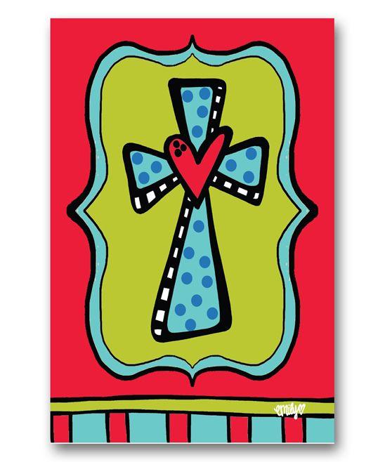 Red Blue Cross Flag Cross Flag Blue Cross Red And Blue
