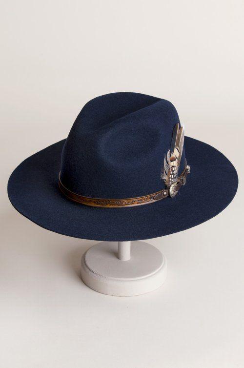 9dd1d77174f34 Messenger Bolivian Wool Felt Outback Hat in 2019