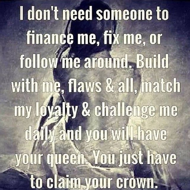 My King Quotes: Balance. Spoil Each Other!
