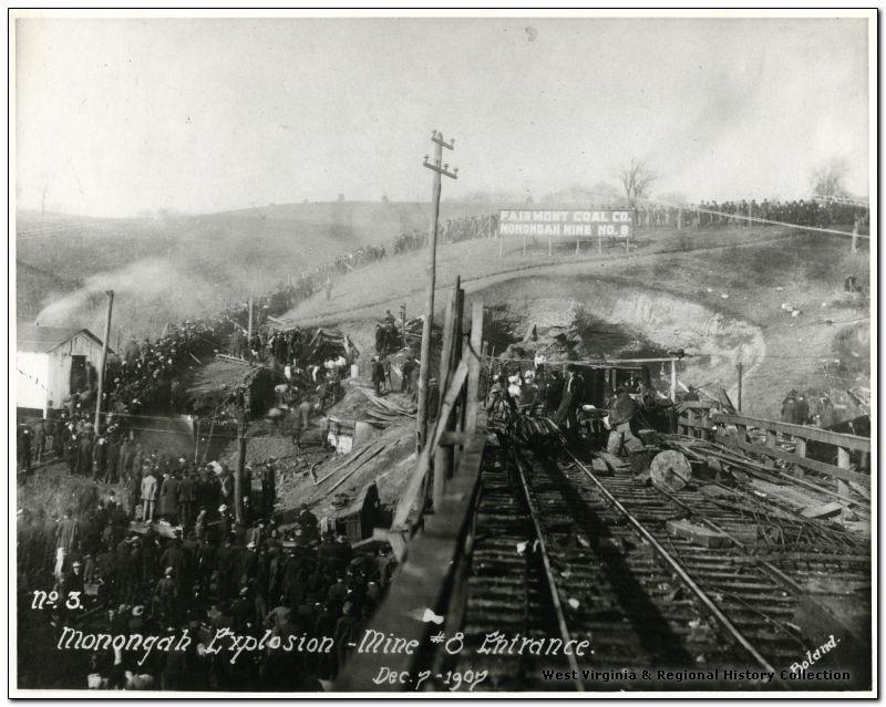 The Monongah Mine disaster of Monongah, West Virginia
