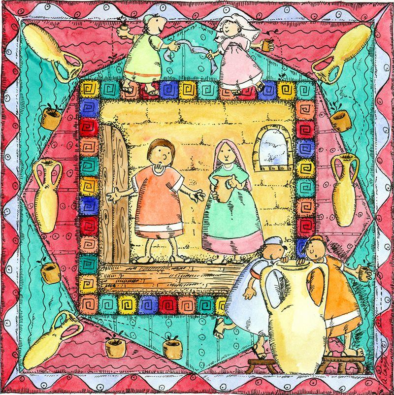 Parábolas para niños: Bodas de Caná