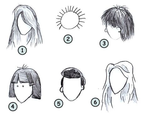 Admirable How To Draw Caricatures Of People Go Back To How To Draw Cartoon Hairstyle Inspiration Daily Dogsangcom