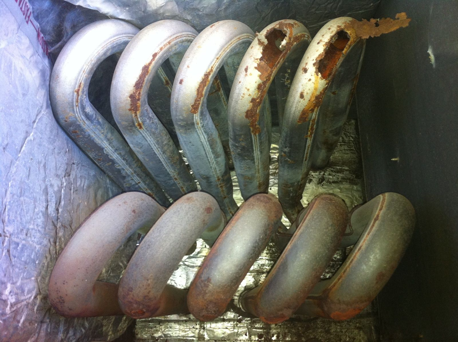 Any Holes Or Cracks In A Gas Heating System Can Release