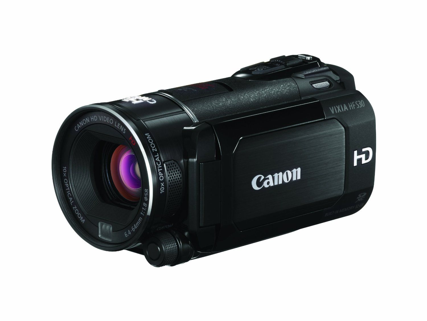 Canon Camcorders Hf S30 Flash Memory Flash Memory Optical Image Camcorder