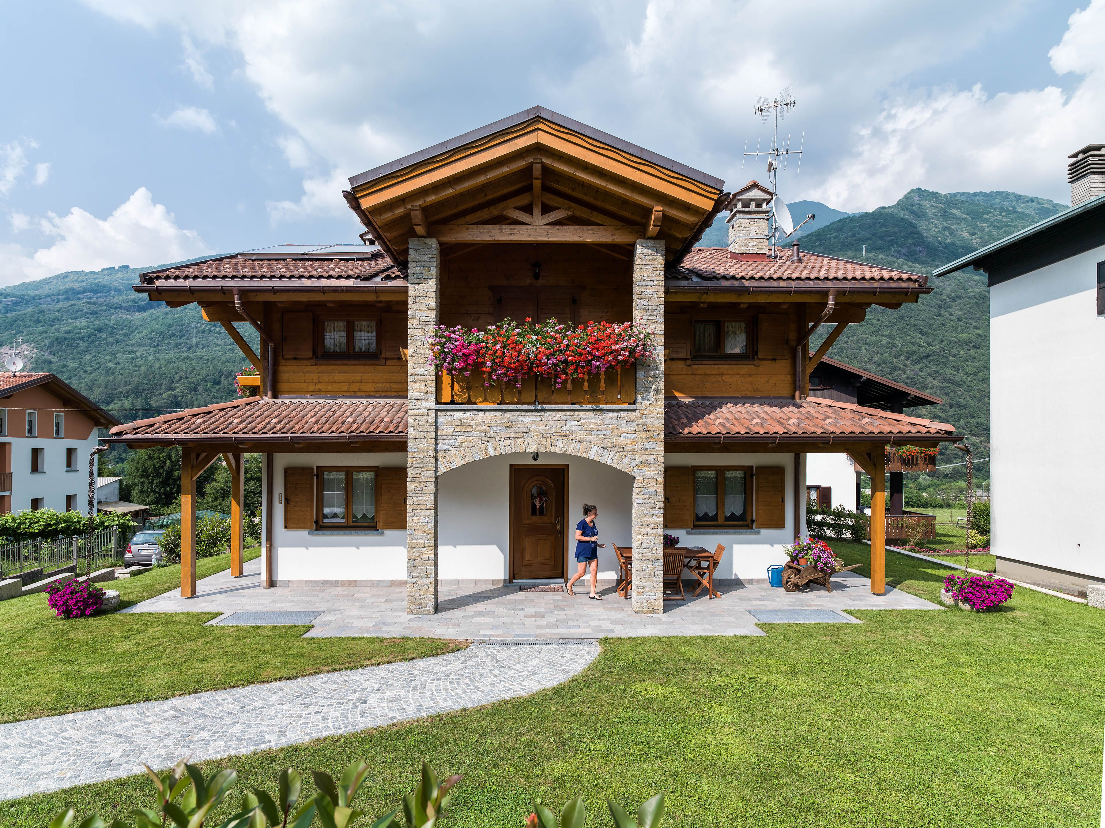 Architettura Rubner Haus House Styles House Mansions