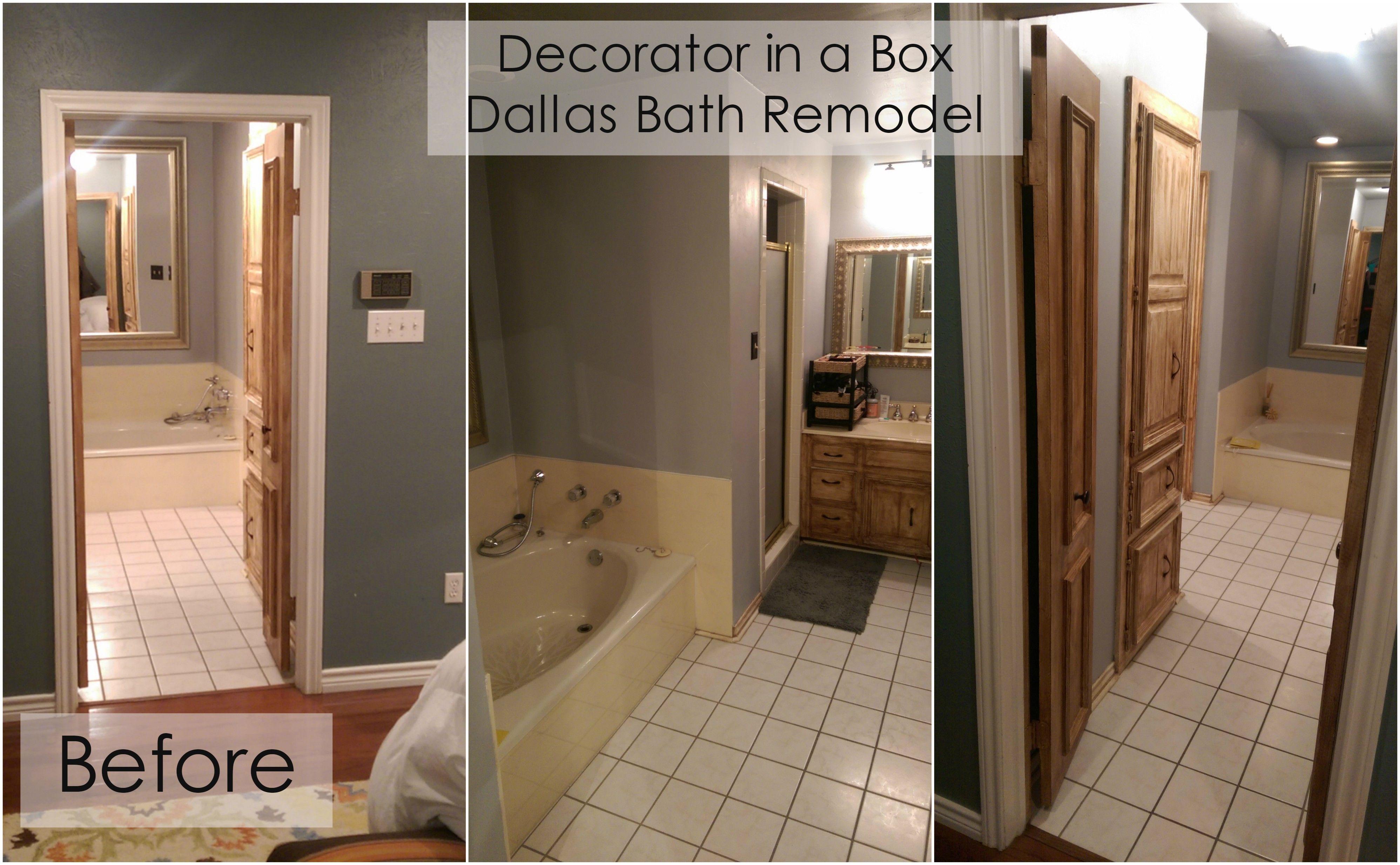 Dallas Bath Remodel Before U0026 After::