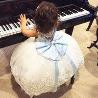 Newest Fashion Baby Girls Dress !!  High quality and Brand new 100% Main Color:  AS The Picture New