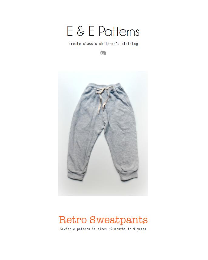 Retro Sweatpants Pattern | ELEGANCE & ELEPHANTS | COSTURA BEBÉS Y ...