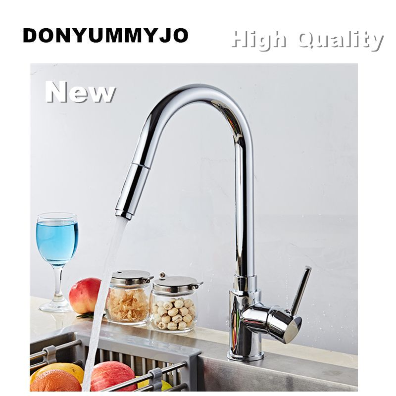Donyummyjo New Design High Quality 360 Rotating Faucet Chrome