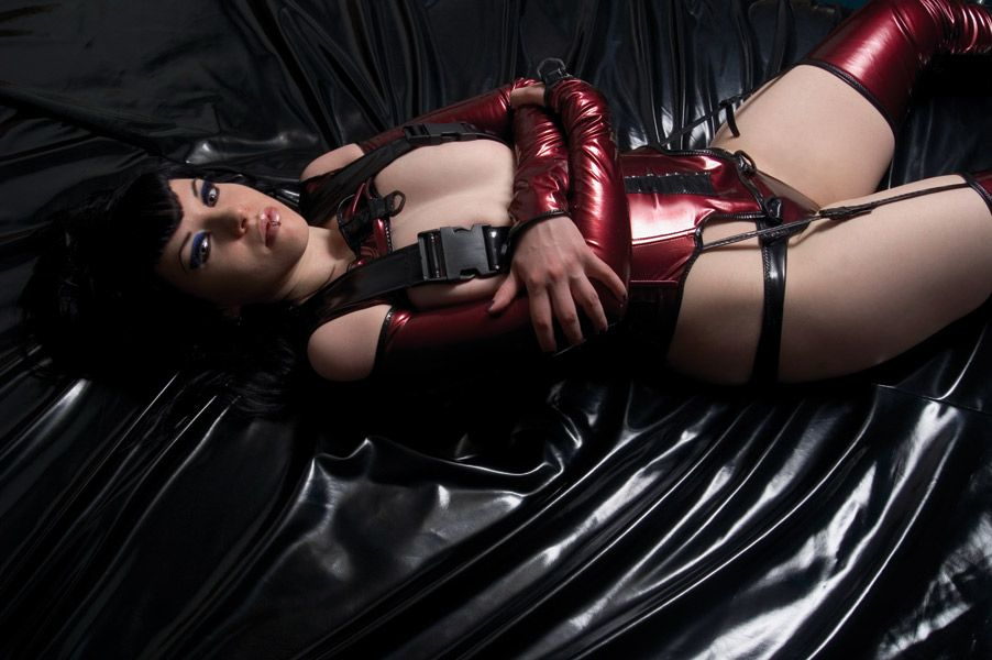 cyber girl, latex, futuristic, cyberpunk, cybergoth